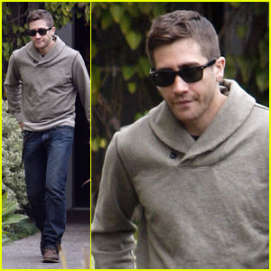 Jake Gyllenhaal: Haircut Before the Oscars!