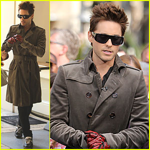 Jared Leto: 'Extra' Interview at The Grove!
