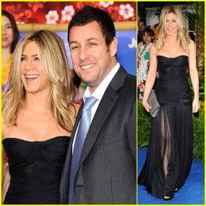 Jennifer Aniston: 'Just Go With It' Premiere with Adam