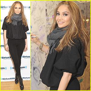 Jennifer Lopez: SiriusXM Studio Visit!