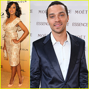 Jesse Williams & Kerry Washington: Essence Luncheon