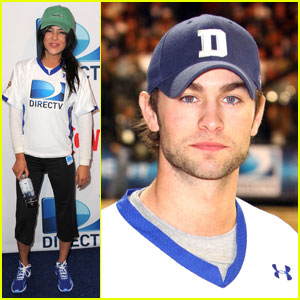 Chace Crawford & Jessica Szohr: Beach Bowl Time!
