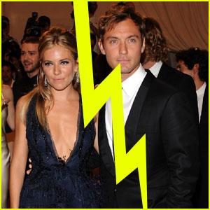 Jude Law & Sienna Miller Split