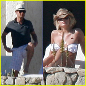 Julianne Hough & Ryan Seacrest: Los Cabos Getaway!