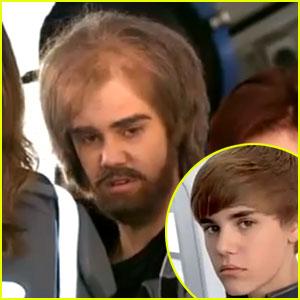 Justin Bieber: Incognito for Super Bowl Commercial!