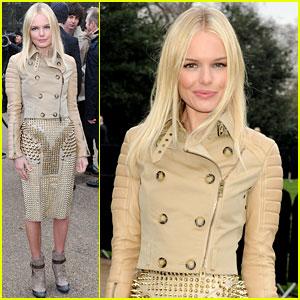 Kate Bosworth: Burberry Prorsum Presentation!