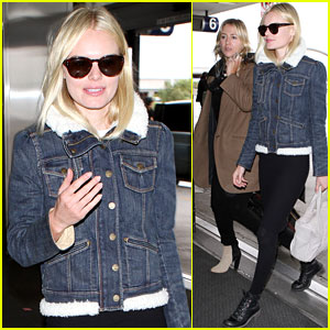 Kate Bosworth: En Route to Fashion Week with Cher Coulter!