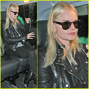 Kate Bosworth Leaves Her London Hotel