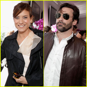 Kate Walsh & Jon Hamm: Aveeno Pledge People