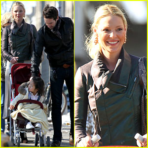 Katherine Heigl: Family Day in NYC!