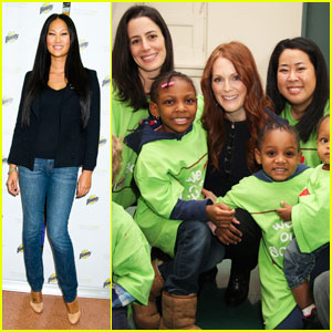 Kimora Lee Simmons & Julianne Moore: Make A Clean Difference!