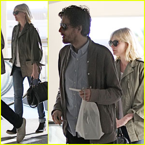 Kirsten Dunst: Grove Shopping with Jason Boesel