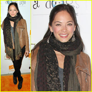 Kristin Kreuk: LA Dogworks 'Night of Emotion' Benefit!