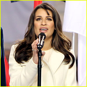 Lea Michele: 'America the Beautiful' at the Super Bowl!