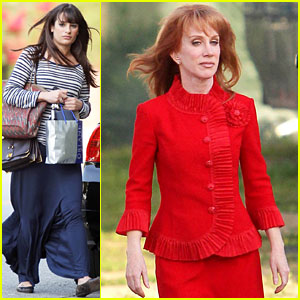 Lea Michele: Glee's Regionals with Kathy Griffin!