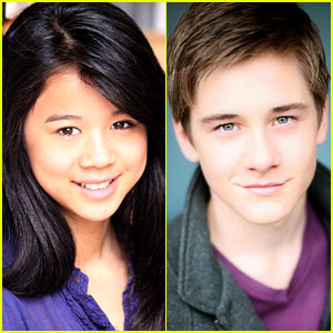 Leah Lewis & Luke Benward: Disney's 'Madison High' Leads