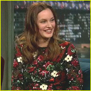 Leighton Meester Talks Being Serenaded by Prince
