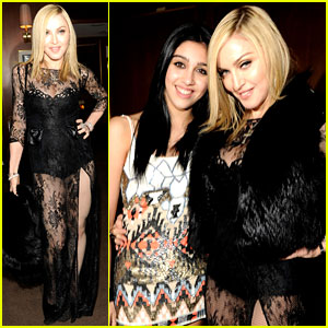 Madonna & Lourdes Leon - Vanity Fair Oscars Party!