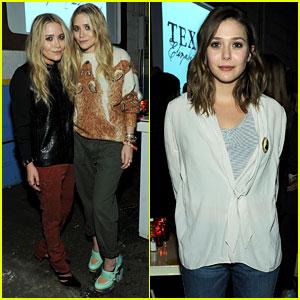 Mary-Kate & Ashley Olsen: Textile Elizabeth and James Celebration!