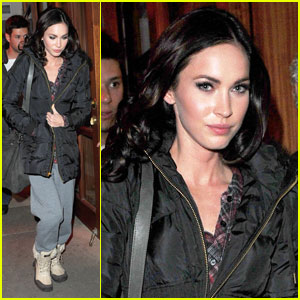 Megan Fox Makes It A Nello Night