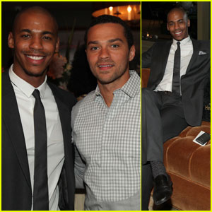 Mehcad Brooks & Jesse Williams: Just 'In Time' for Hennessy