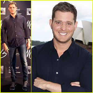 Michael Buble Brings Crazy Love Down Under