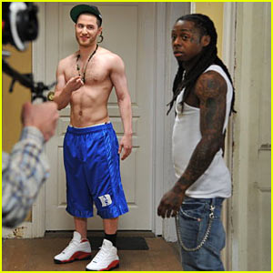 Mike Posner: 'Bow Chicka' Shoot with Lil Wayne!