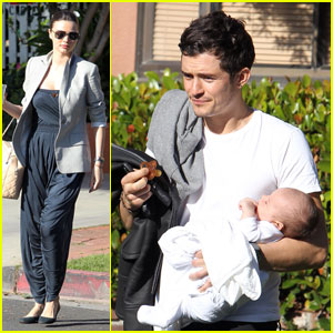 Miranda Kerr & Orlando Bloom: Doctor Visit with Flynn!