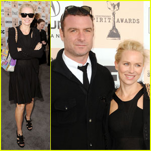 Naomi Watts - Spirit Awards 2011 with Liev Schreiber