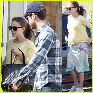 Natalie Portman: Post-Oscar Breakfast with Benjamin Millepied!