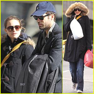 Natalie Portman & Benjamin Millepied: Sunday Stroll in NYC