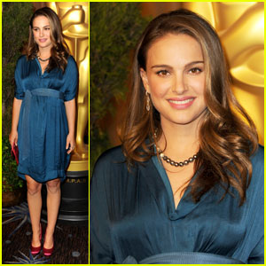 Natalie Portman: Oscar Nominations Luncheon