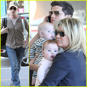 Neil Patrick Harris: LAX with the Twins!