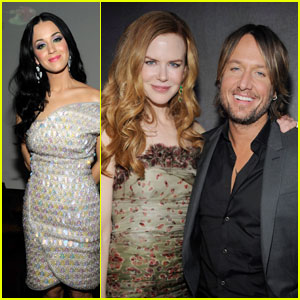 Nicole Kidman: EMI Grammy Party with Keith Urban!