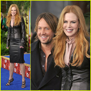 Nicole Kidman: 'Just Go With It' Premiere with Keith Urban!