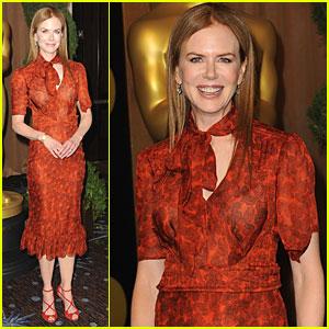 Nicole Kidman: Oscar Nominations Luncheon!