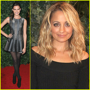 Nicole Richie & Odette Yustman: QVC Party!