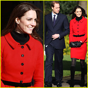 Prince William & Kate Middleton Return to St. Andrews!