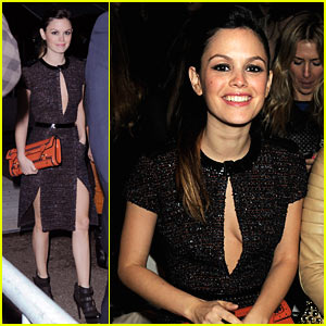 Rachel Bilson: Burberry Prorsum with Kate Bosworth!