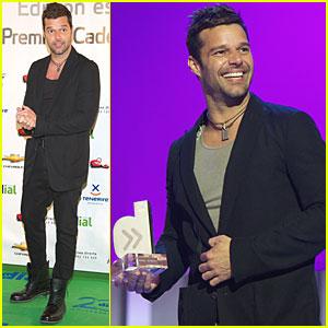 Ricky Martin: Cadena Dial Awards!