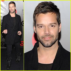 Ricky Martin Launches 'Musica + Alma + Sexo'