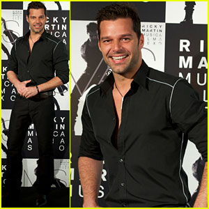 Ricky Martin: 'M.A.S.' in Madrid!