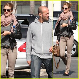 Rosie Huntington-Whiteley & Jason Statham: Malibu Mates