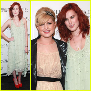 Rumer Willis: Badgley Mischka Show with Kelly Osbourne!