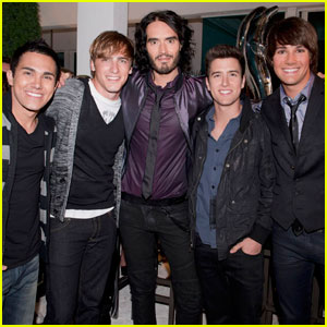 Russell Brand: 'Big Time Beach Party' with Big Time Rush!