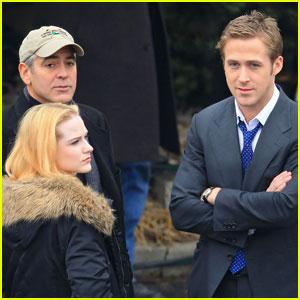 George Clooney: 'Ides' with Ryan Gosling & Evan Rachel Wood