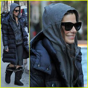 Sandra Bullock Is In The Hood