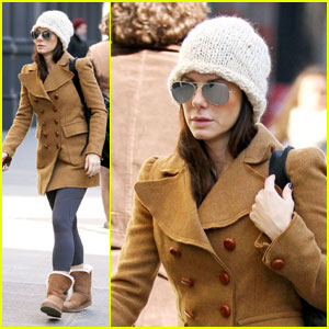 Sandra Bullock: Workout Woman in NYC