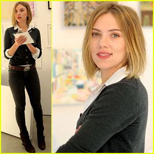 Scarlett Johansson: Pieces of Heaven Art Auction!