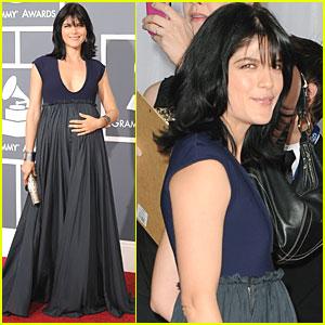 Selma Blair - Grammys 2011 Red Carpet